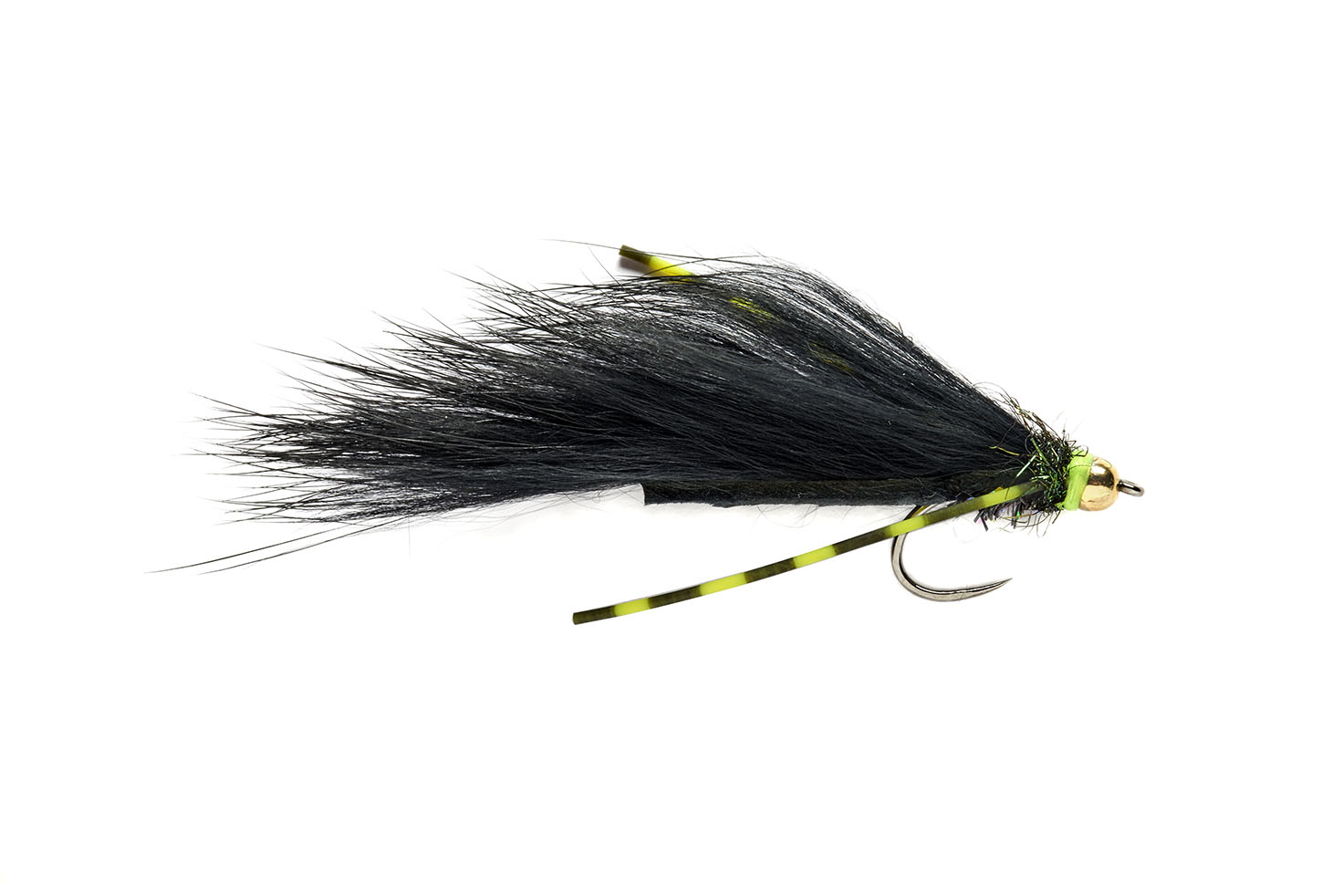 Flexi Black Zonker Barbless