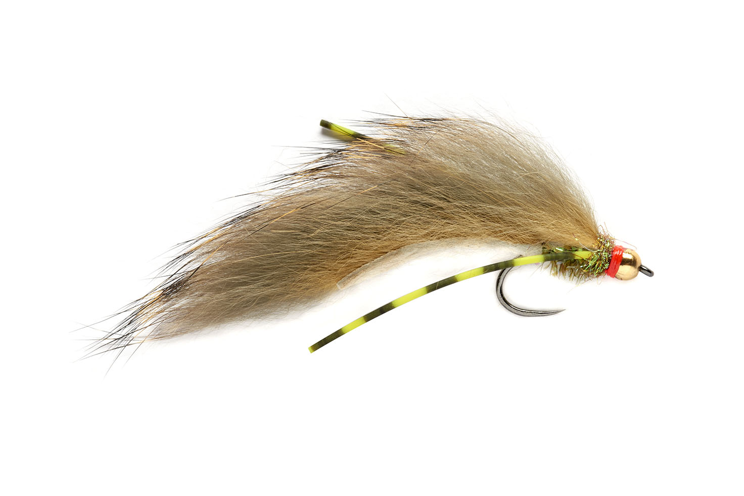 Flexi Olive Zonker Barbless