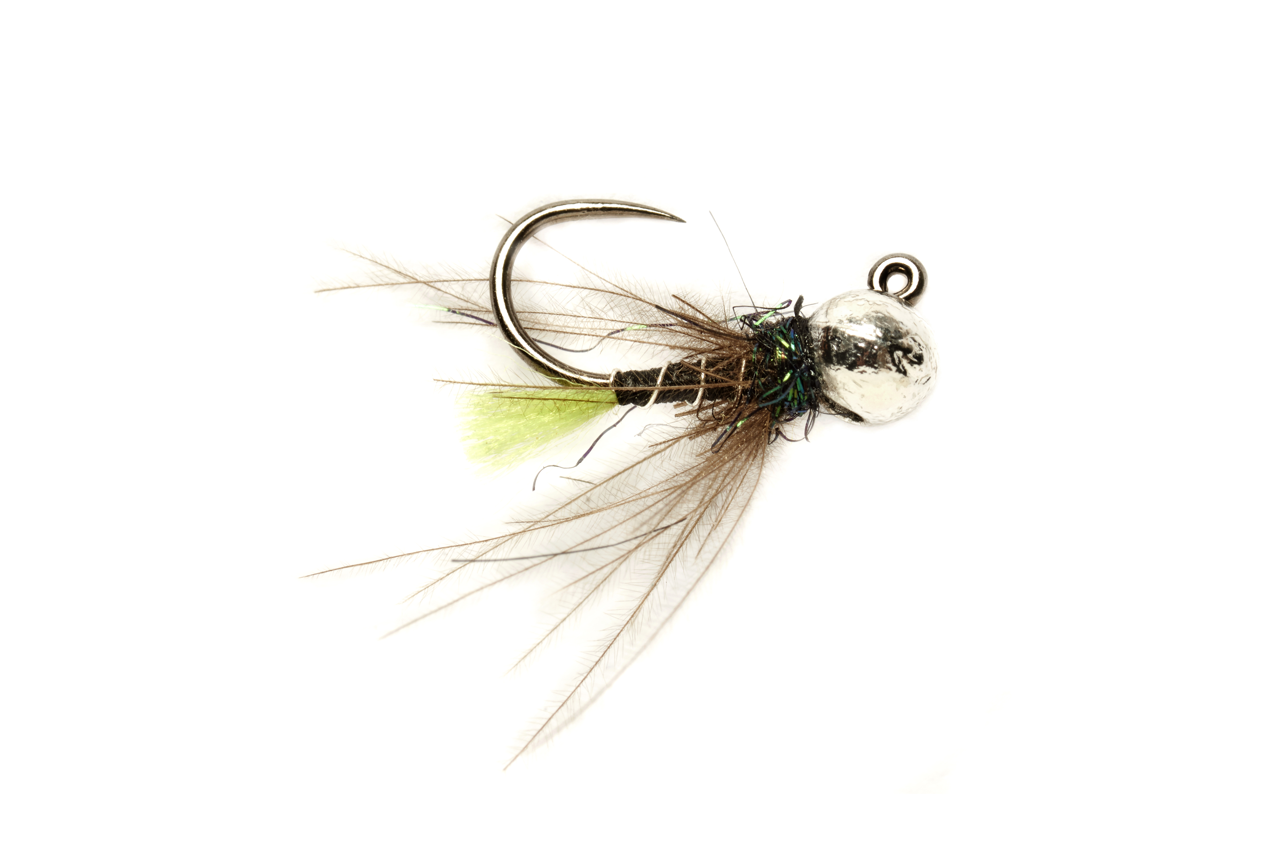 Roza Green Tag Jig Barbless