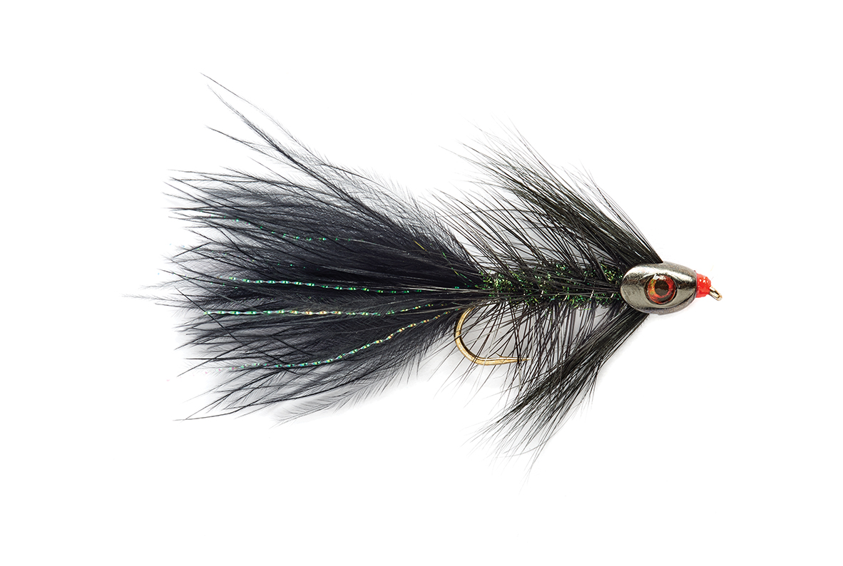 Woolly Bugger Black Skullhead