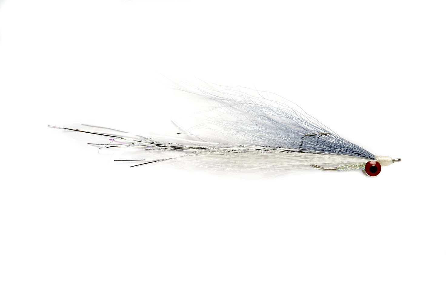Deep Water Clouser Grey Ghost