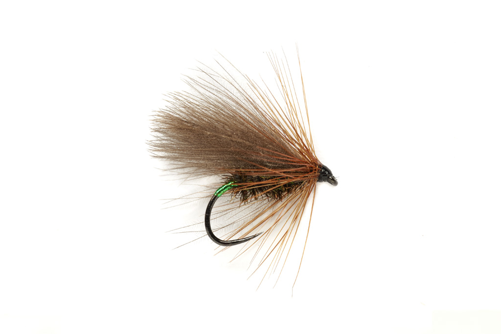 SR Green Butt CdC Caddis Barbless