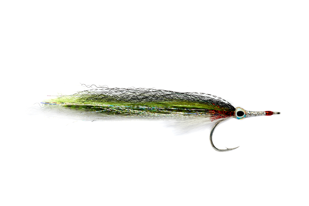 GT Needlefish Chartreuse & White