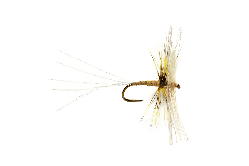 OE Semi Circle Spinner Yellow May Dun Barbless