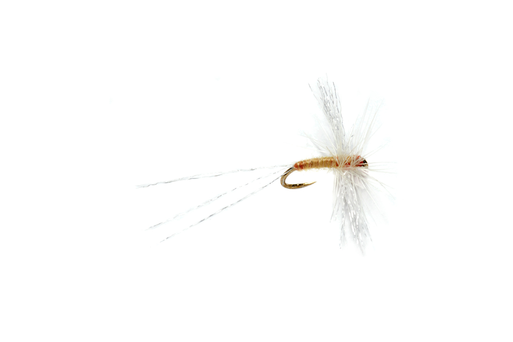 OE Semi Circle Spinner Pale Watery Barbless