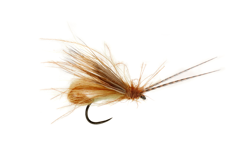 McPhail Bubble Wing Caddis Cinnamon Barbless