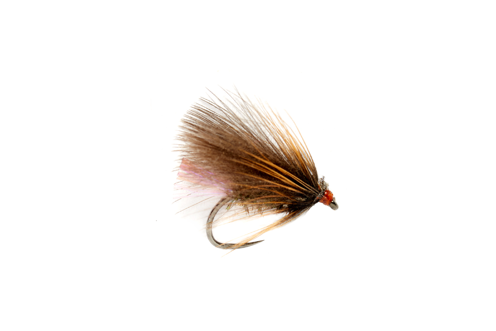 Roza's Violet Caddis Barbless