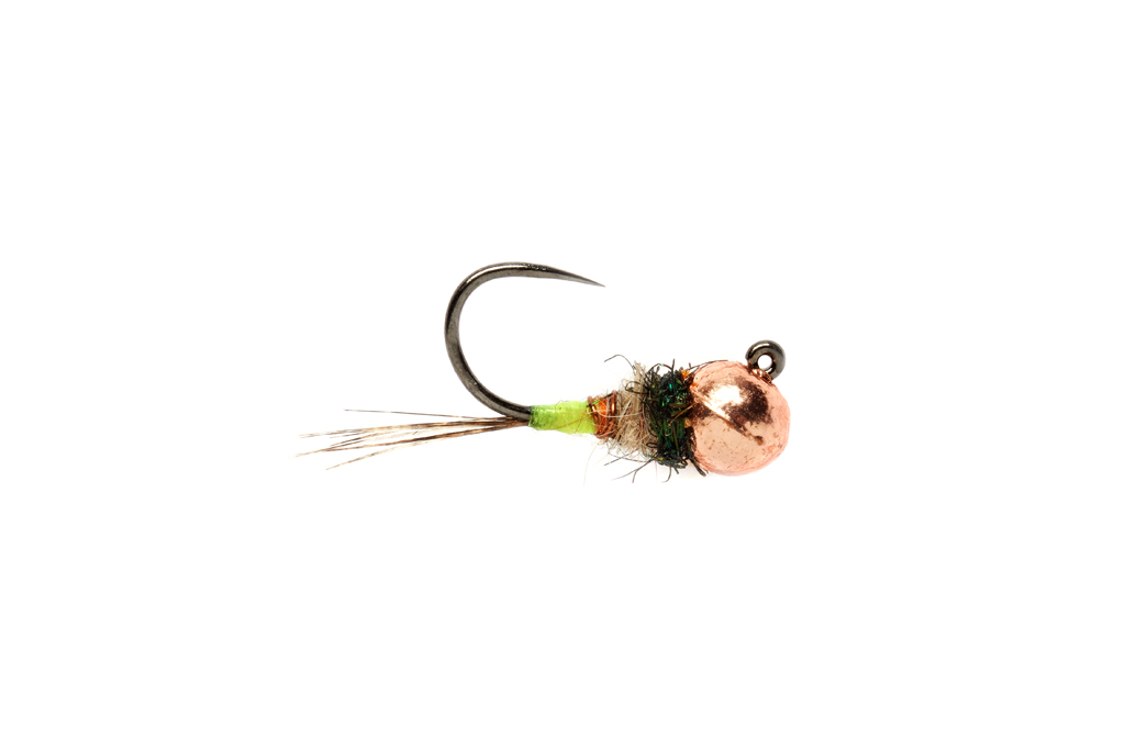 Roza's Green Butt Jig Barbless