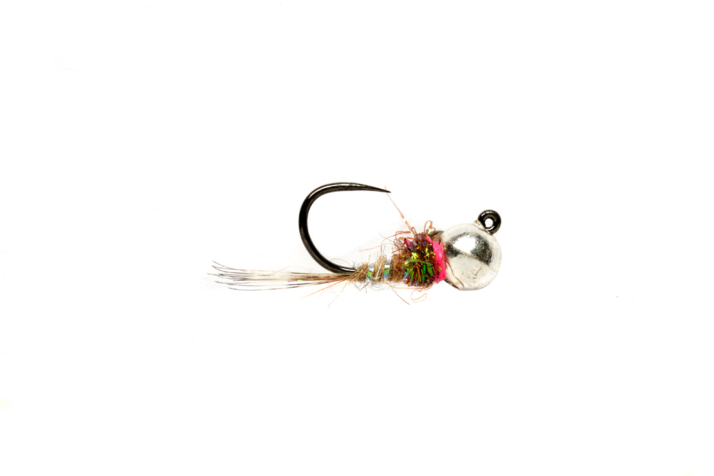 Roza's Ice Hare Jig Barbless