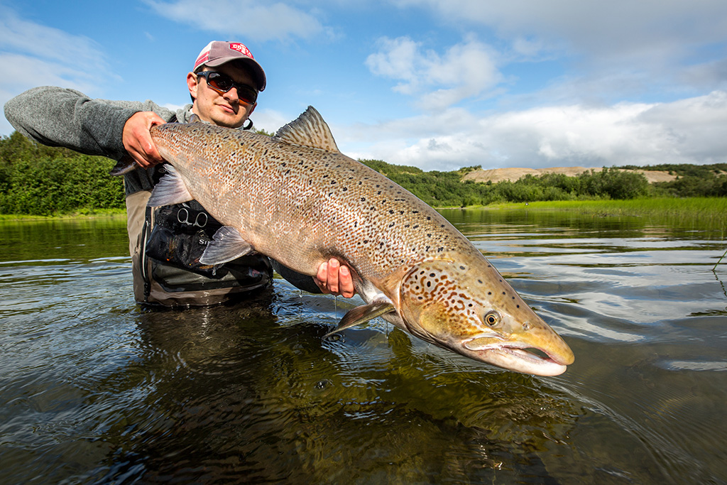 JC Salmon Flies