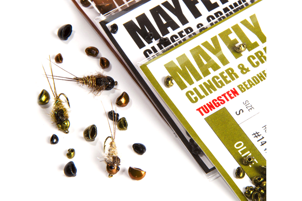 Nymph-Head® Evolution™ Mayfly Clinger & Crawler Tungsten Beadhead Black