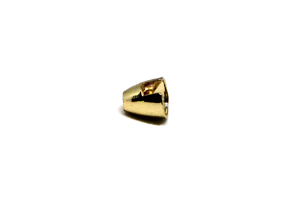 Slotted Tungsten Conehead Gold