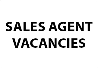 Sales Agent Vacancies