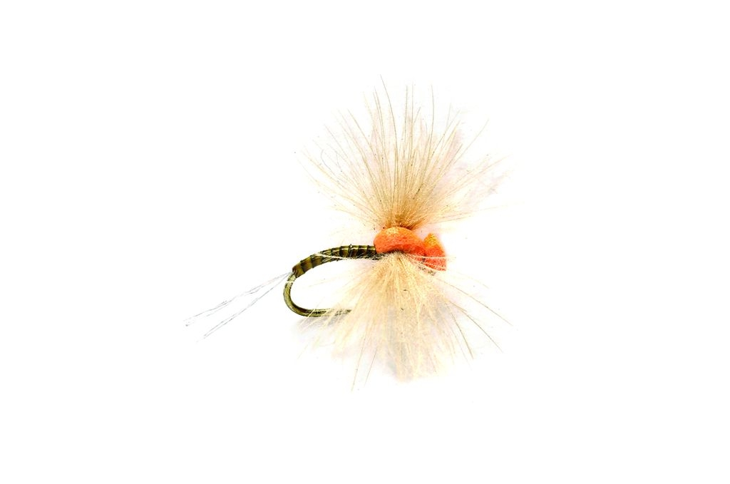 Drop Arse Spinner Olive Barbless