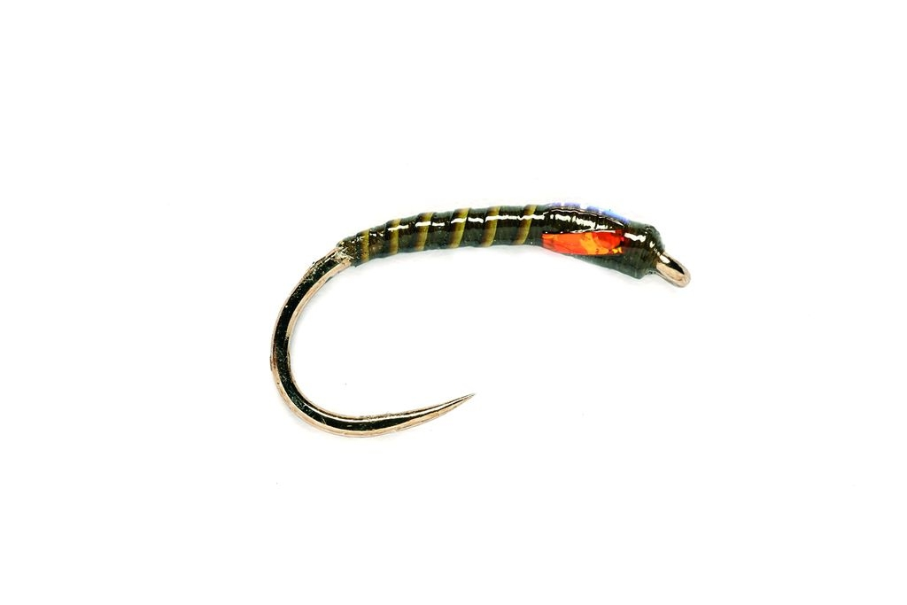 Buzzer Crank Shank Olive Barbless