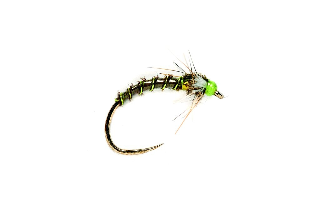 Buzzer Slow Sink Olive Barbless