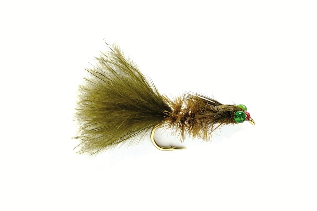 Marabou Dark Weighted Damsel