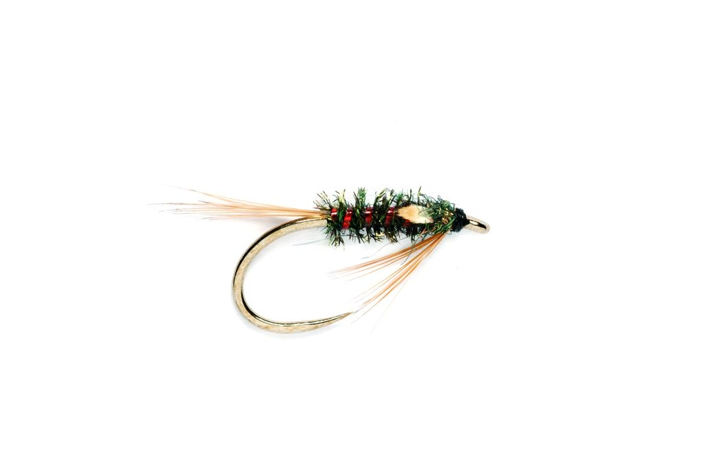 Diawl Bach Stealth Red Holo Barbless