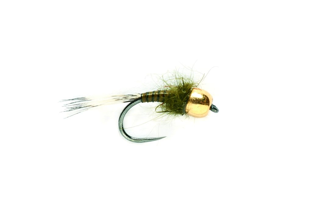 SR Skinny Quill Olive (Nugget) Barbless
