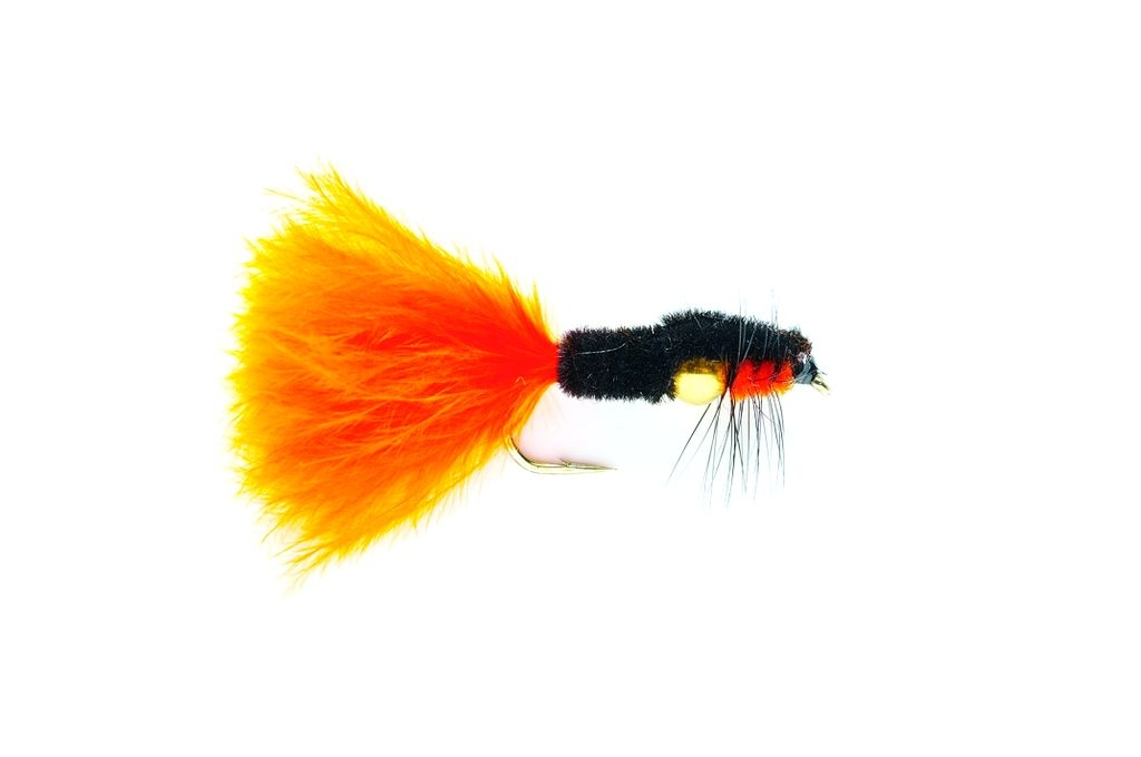 Montana Nugget Marabou Orange Gold