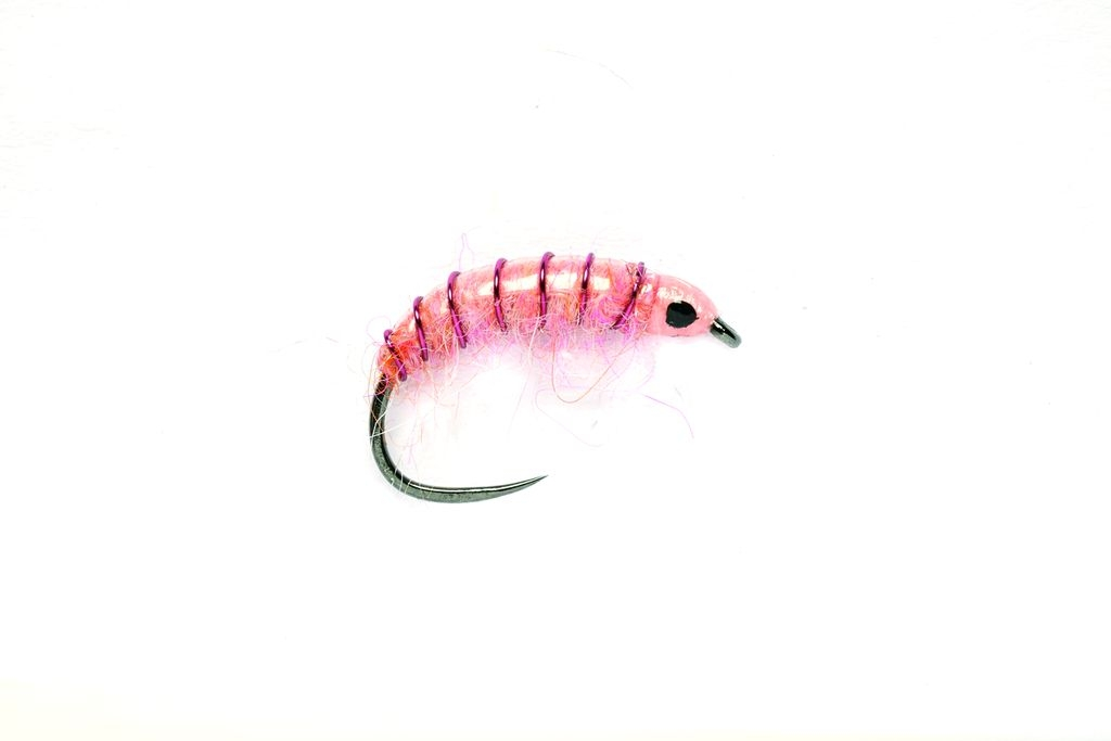 Dirty Pink Shrimp Barbless