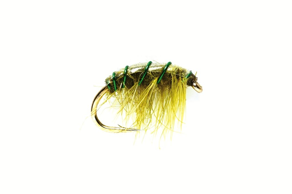 Shrimper Olive Weighted
