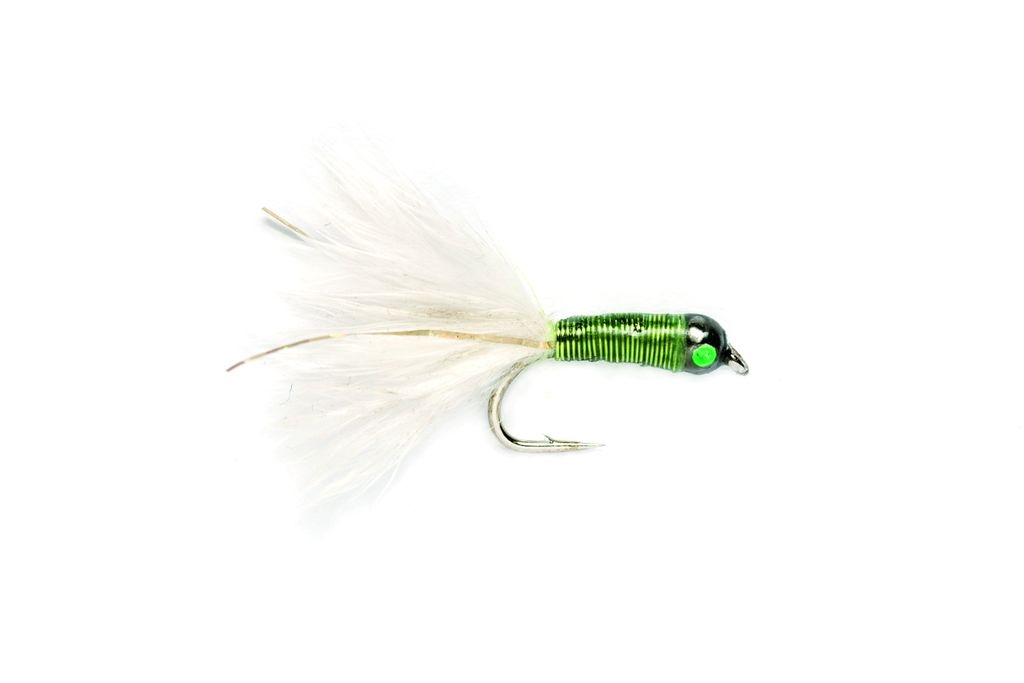 Lead Bug Chartreuse White