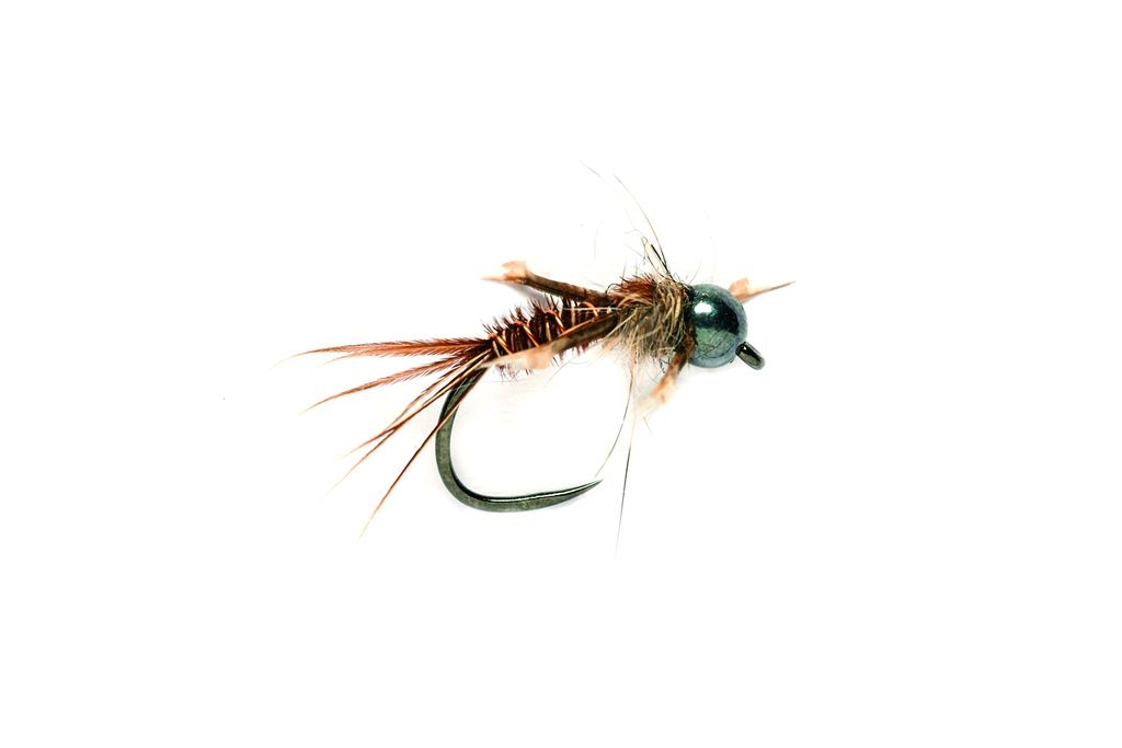 Czech Pheasant Tail Black Barbless