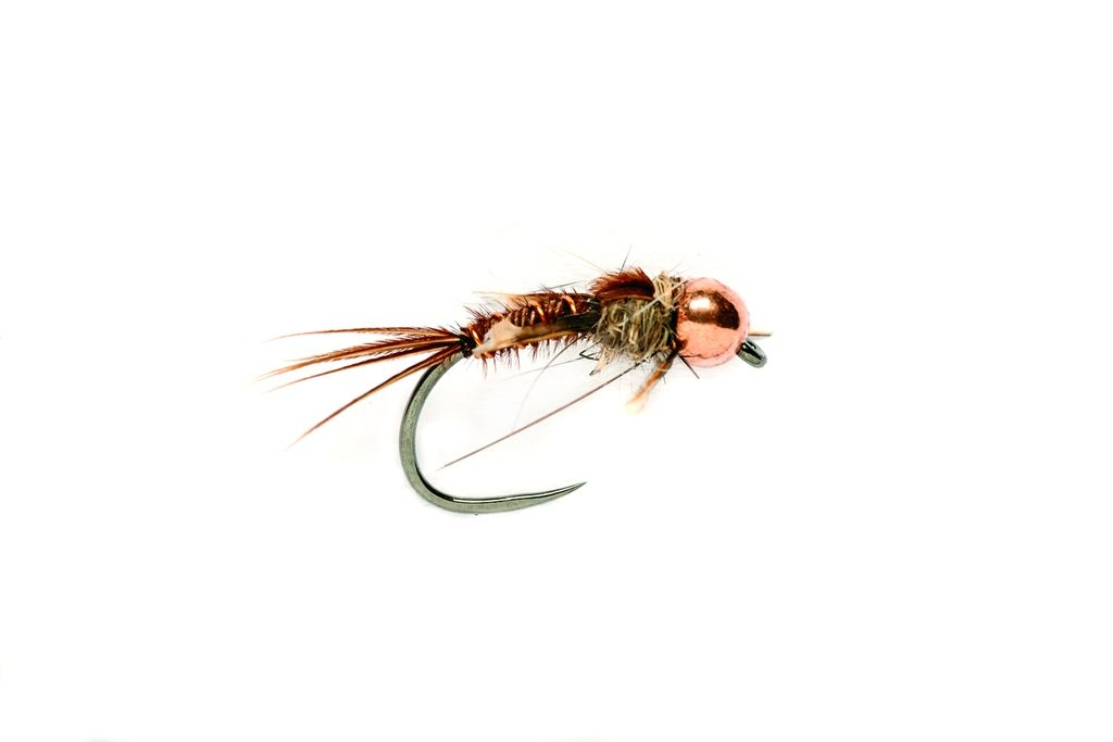 Czech Pheasant Tail Copper Barbless