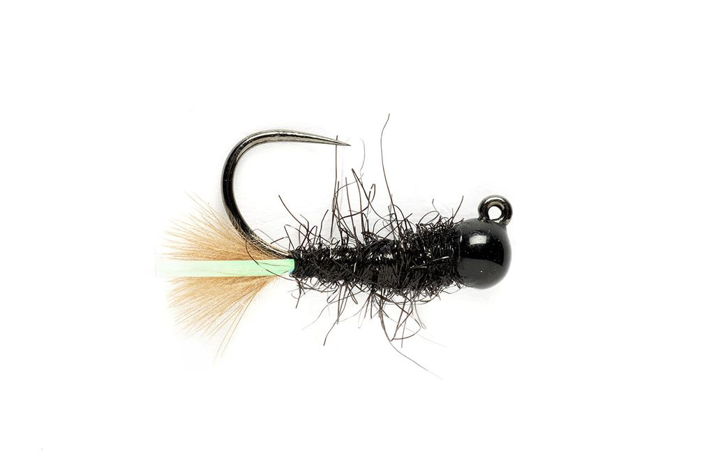 KJ Black Jig Barbless