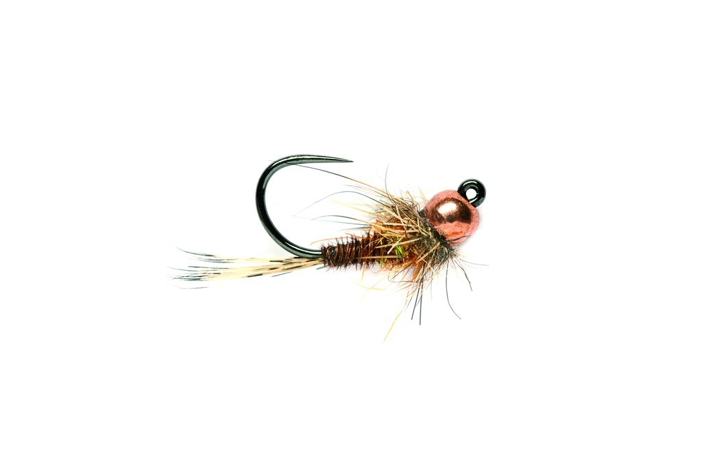 Pheasant Tail Hot Spot Barbless
