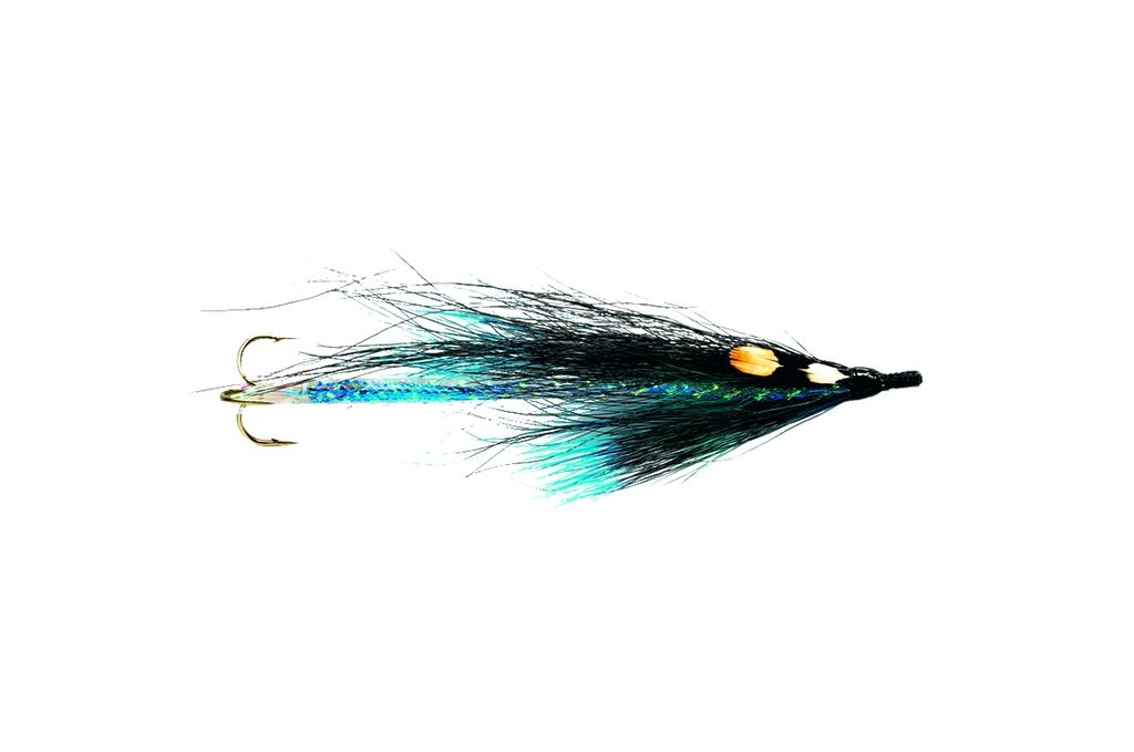 Snake Fly Black & Blue