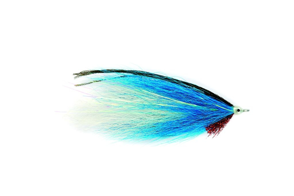 Bucktail Blue White