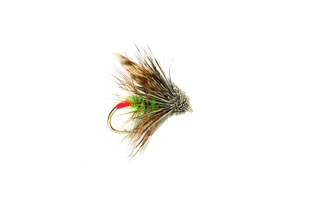 Muddler Mini Red Arsed Green Peter