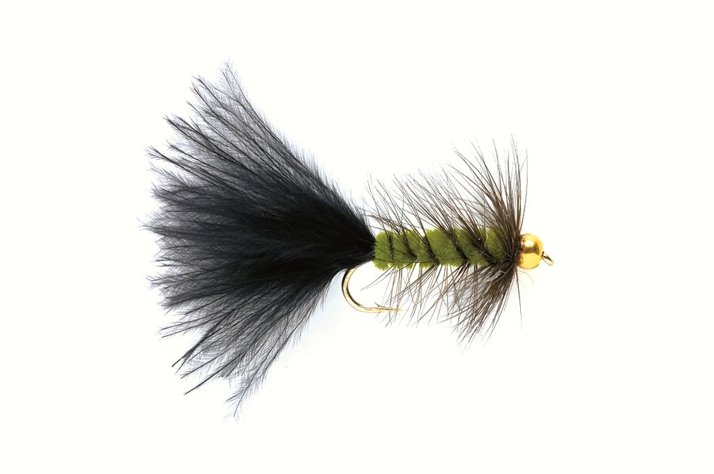 Woolly Bugger Olive (Gold Nugget)