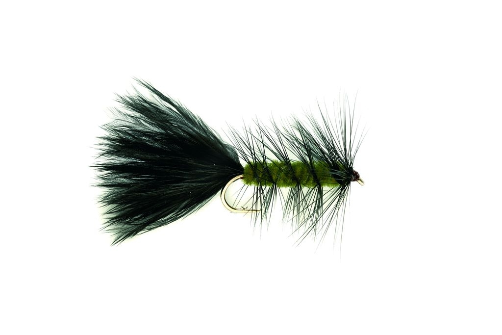 Woolly Bugger Olive Weighted