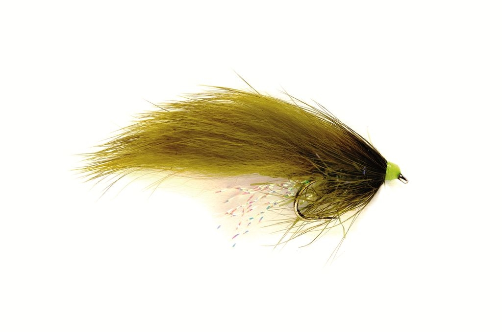 SR Hot Head Straggle Zonker Olive
