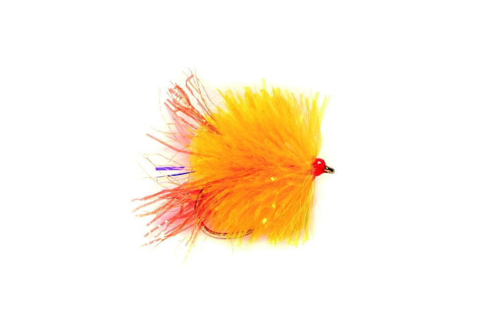 Blob FAB Sunburst Fire Tail Barbless