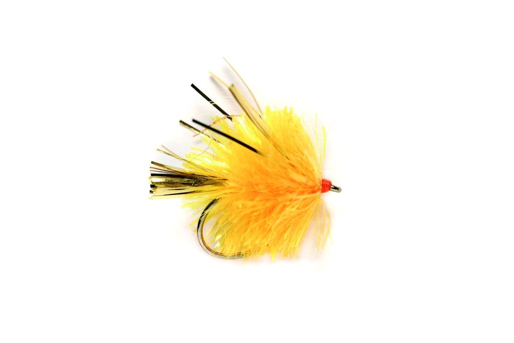 Blob Sunburst with Wings Barbless
