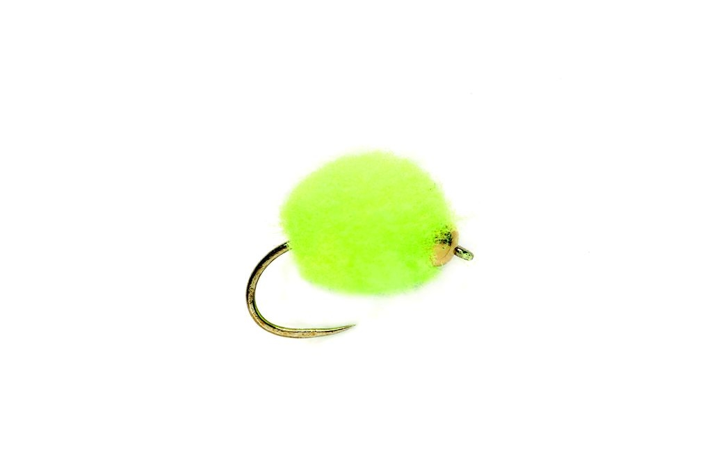Blob Egg Chartreuse Barbless