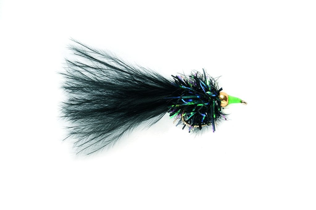 Black & Green Nomad Barbless