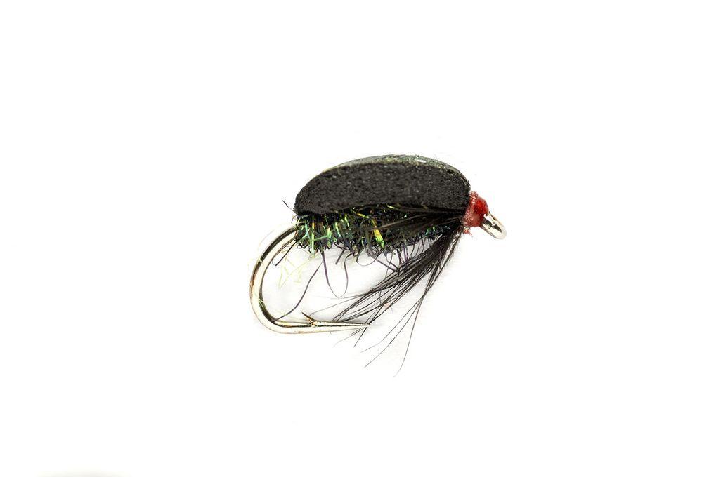 3 x FINEST QUALITY COCH Y BONDDU BEETLE NYMPH TROUT FISHING FLIES SIZE 10